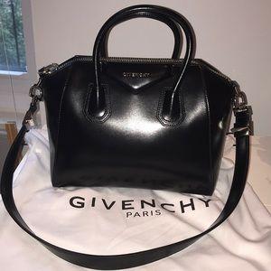 Givenchy Small Antigona Bag Calfskin Satchel